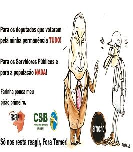 Fora Temer 01.11.17 banner